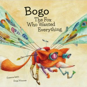 libro bogo the fox who wanted everything librería inglés divertido