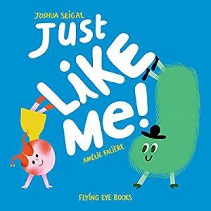 libro just like me en inglés divertido