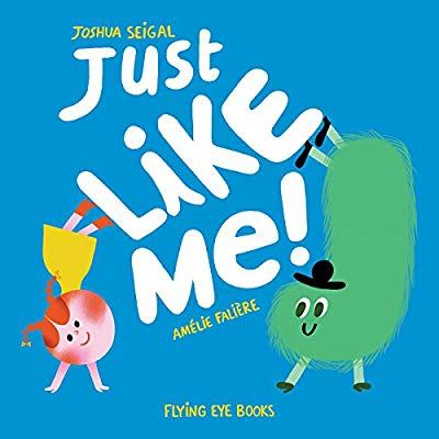 libro just like me en inglés divertido