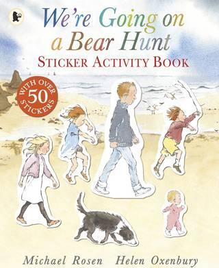 sticker-activity-book-we're-going-on-a-bear-hunt-ingles-divertido