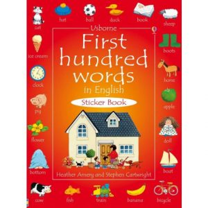 Usborne First Hundred Words in English - Sticker Book