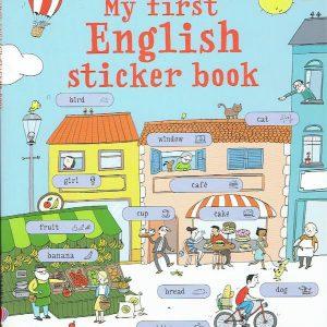 My First English Sticker Book