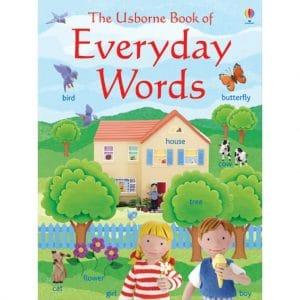 The Usborne Everyday Words Sticker Book in English