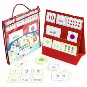 Numbers & Shapes Pocket Chart