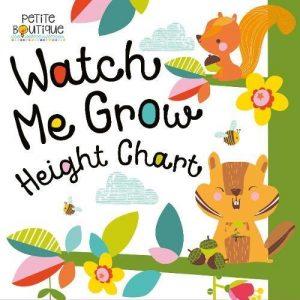 Watch Me Grow - Height Chart