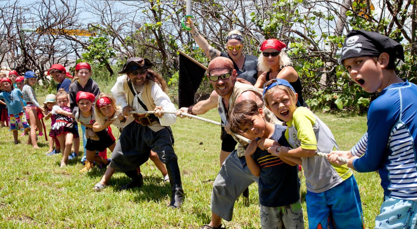 Pirates Camp en Inglés Divertido